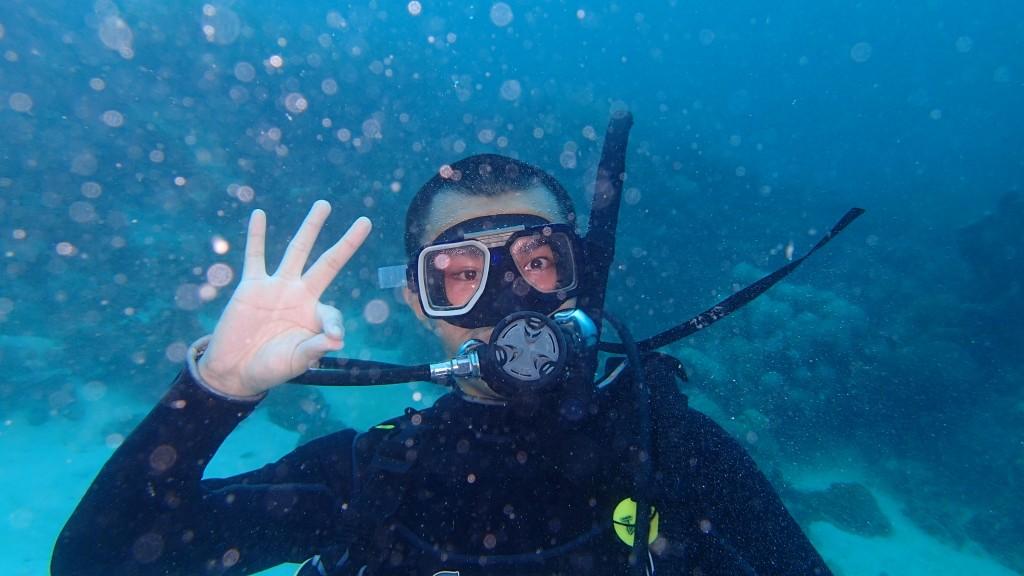 水下定妆照